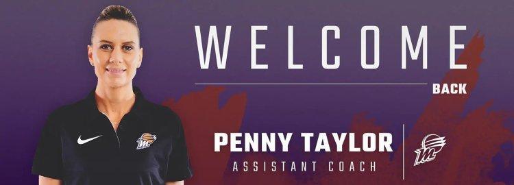 Penny Taylor es nombrada entrenadora ayudante de Phoenix Mercury