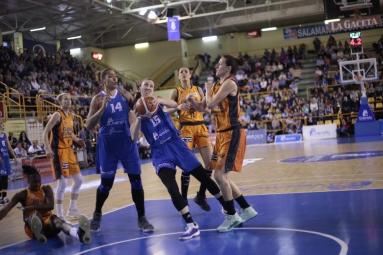 Playoffs Liga DIA: Semifinales entre Perfumerías Avenida y Valencia Basket