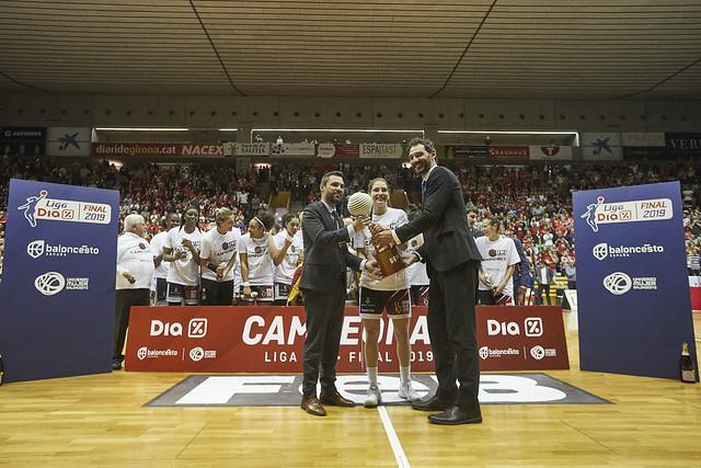 Spar Citylift Girona campeón de la Liga DIA por segunda vez en su historia