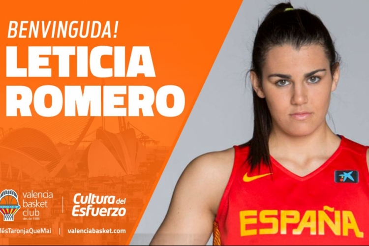 Leticia Romero ficha por Valencia Basket