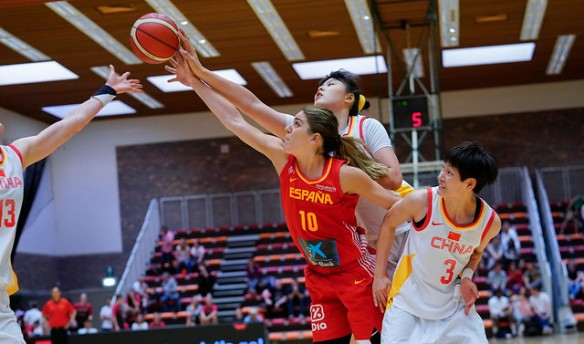 Torneo de Bélgica: España recupera sensaciones ante China