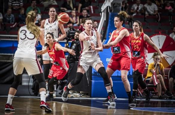 Eurobasket Serbia Letonia: Letonia contra España