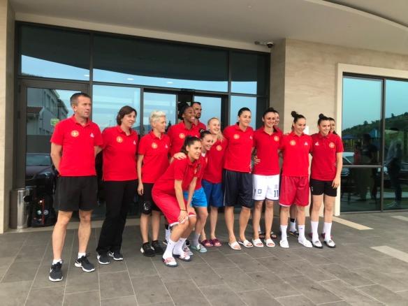 Eurobasket Serbia y Letonia: Plantilla de Montenegro
