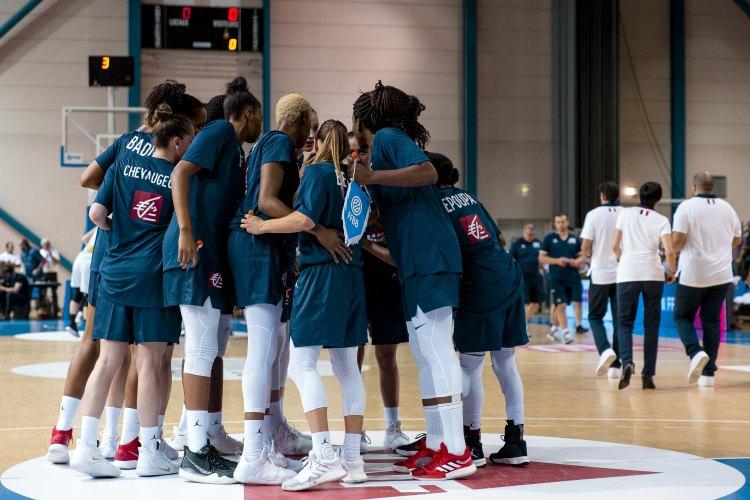 Eurobasket Serbia y Letonia: Plantilla de Francia