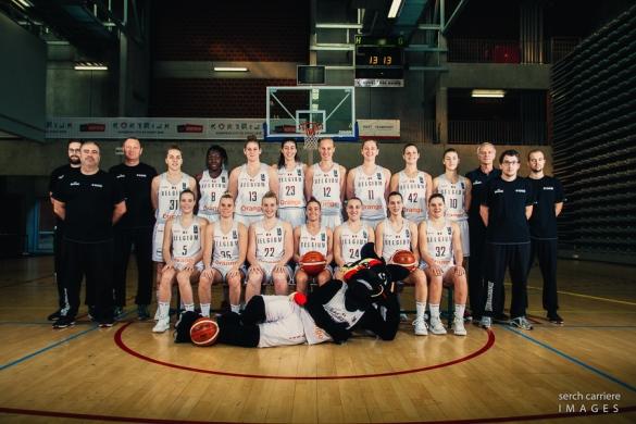 Eurobasket Serbia y Letonia: Plantilla de Bélgica
