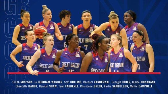 Eurobasket Serbia y Letonia: Plantilla de Gran Bretaña