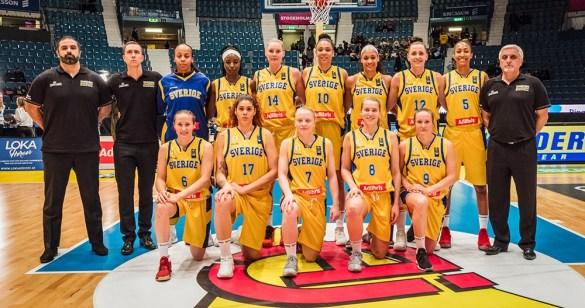 Plantilla de Suecia para el Eurobasket de Serbia y Letonia