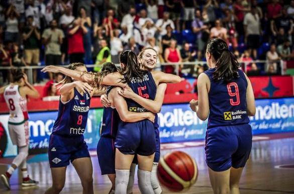 Eurobasket Serbia y Letonia: Serbia celebra la victoria frente a Bielorrusia