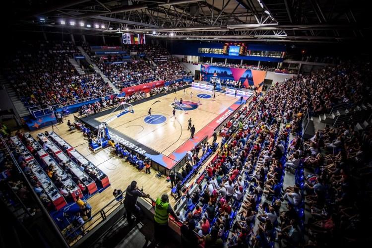Eurobasket de Serbia y Letonia