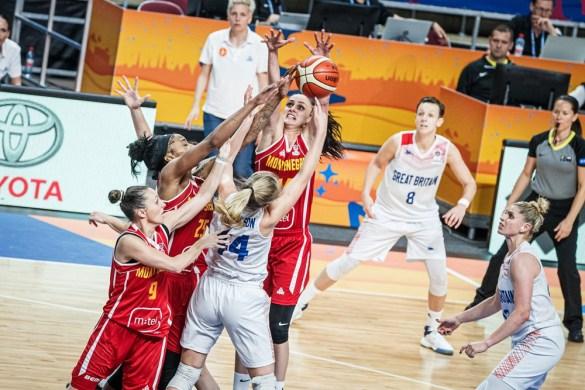 Eurobasket Serbia y Letonia: Gran Bretaña contra Montenegro
