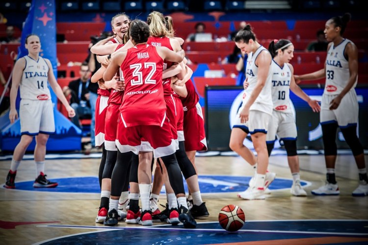Eurobasket Serbia y Letonia: Rusia celebra el pase a cuartos de final