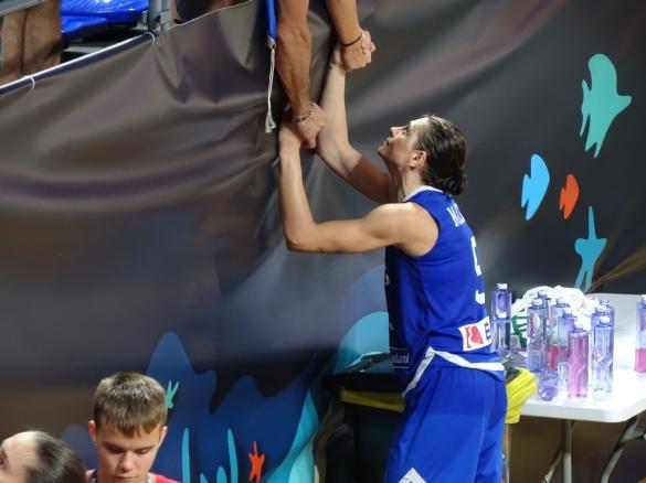 Evanthia Maltsi anuncia su retirada de la selección griega