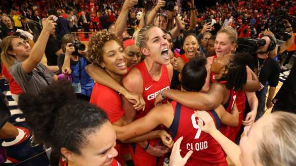 WNBA Playoffs: Washington Mystics consigue su primer anillo