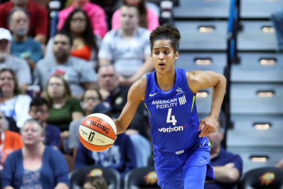 Skylar Diggins de Dallas Wings