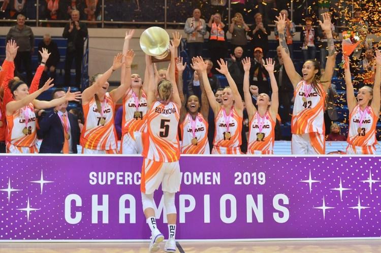 Supercopa: UMMC Ekaterinburg consigue su cuarto título de manera consecutiva