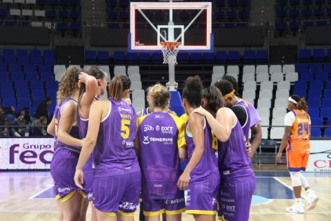 Jornada 9. Ciudad de la Laguna Tenerife contra Valencia Basket.