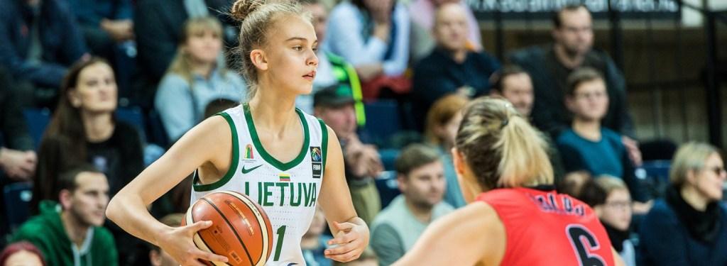 Juste Jocyte debuta en la Euroliga Femenina con solo 14 años y 29 días
