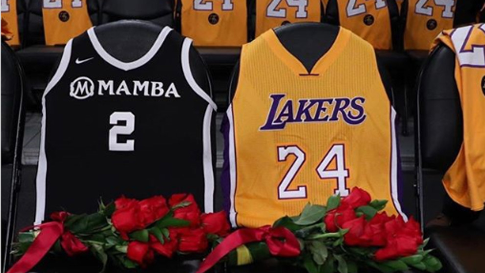 Homenaje a Kobe Bryant y Gianna Bryant en el Staples Center