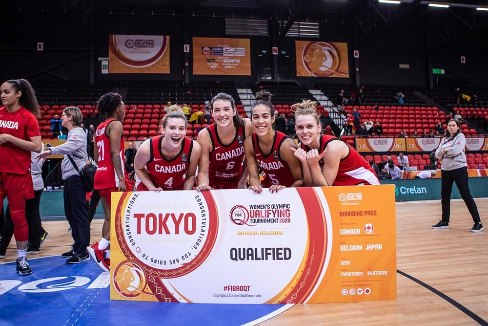 Canadá celebra el pase a Tokio 2020