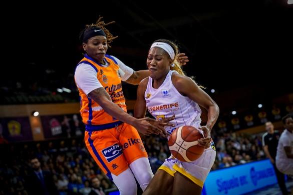 Copa de la Reina 2020: Valencia Basket contra Ciudad de La Laguna Tenerife
