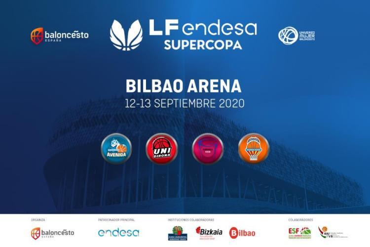 La Supercopa Liga Femenina Endesa se jugará en Bilbao