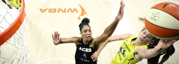 WNBA Finals: Seattle Storm vence en el primer partido a Las Vegas Aces