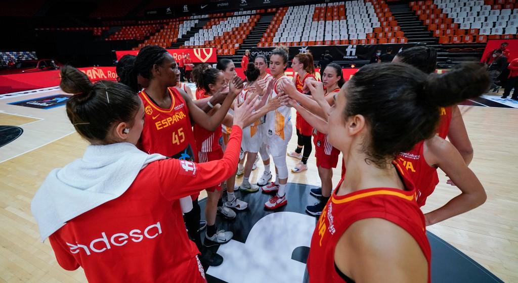 Clasificación Eurobasket Francia y España: España rojo derrota con contundencia a España blanco