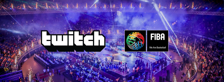 FIBA y Twitch anuncian un acuerdo de colaboración