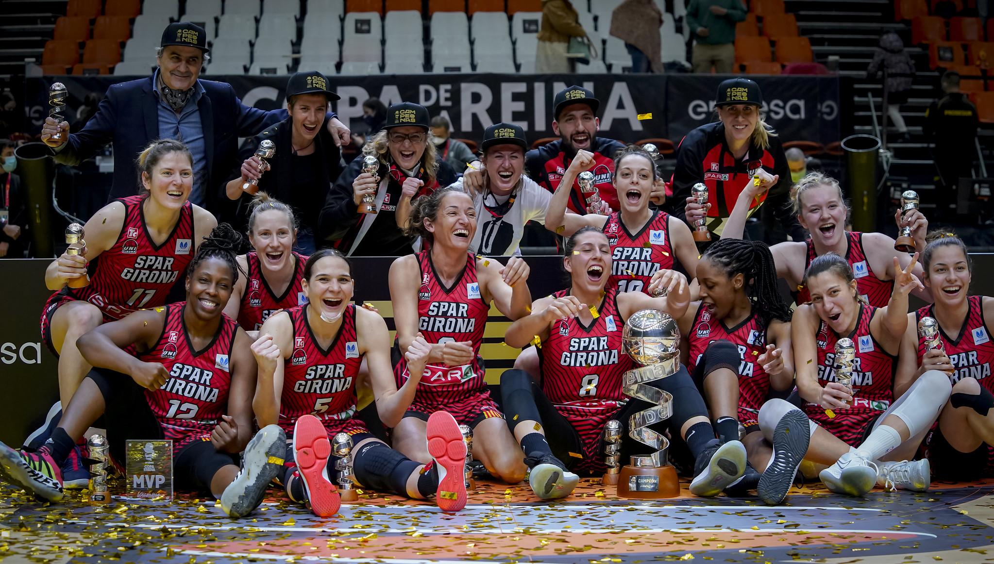 Spar Girona se proclama campeón de la Copa de la Reina por primera vez en su historia