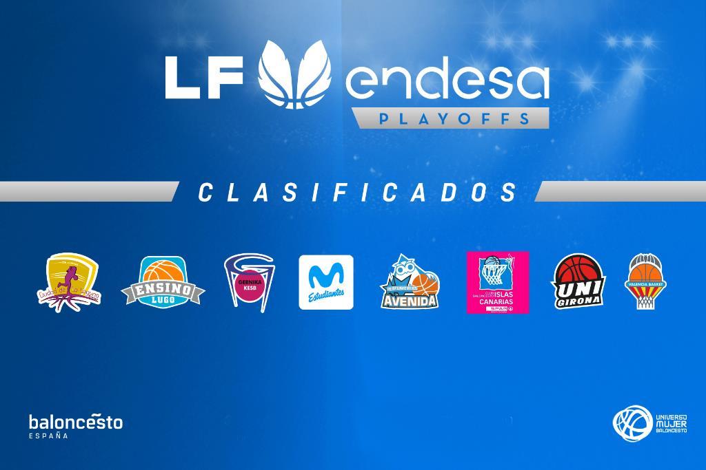 Liga Femenina Endesa: Equipos clasificados para los playoffs