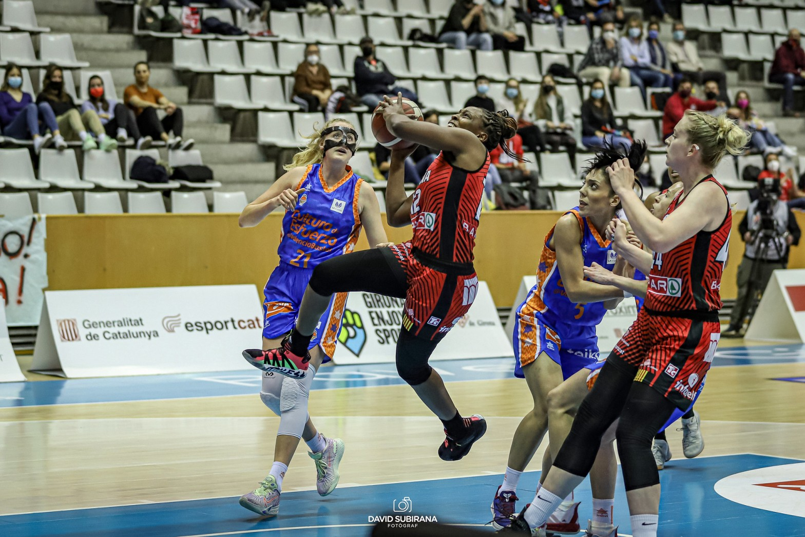 Semifinales Liga Femenina Endesa: Spar Girona contra Valencia Basket