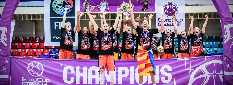 Eurocup Women: Valencia Basket consigue su primer título europeo