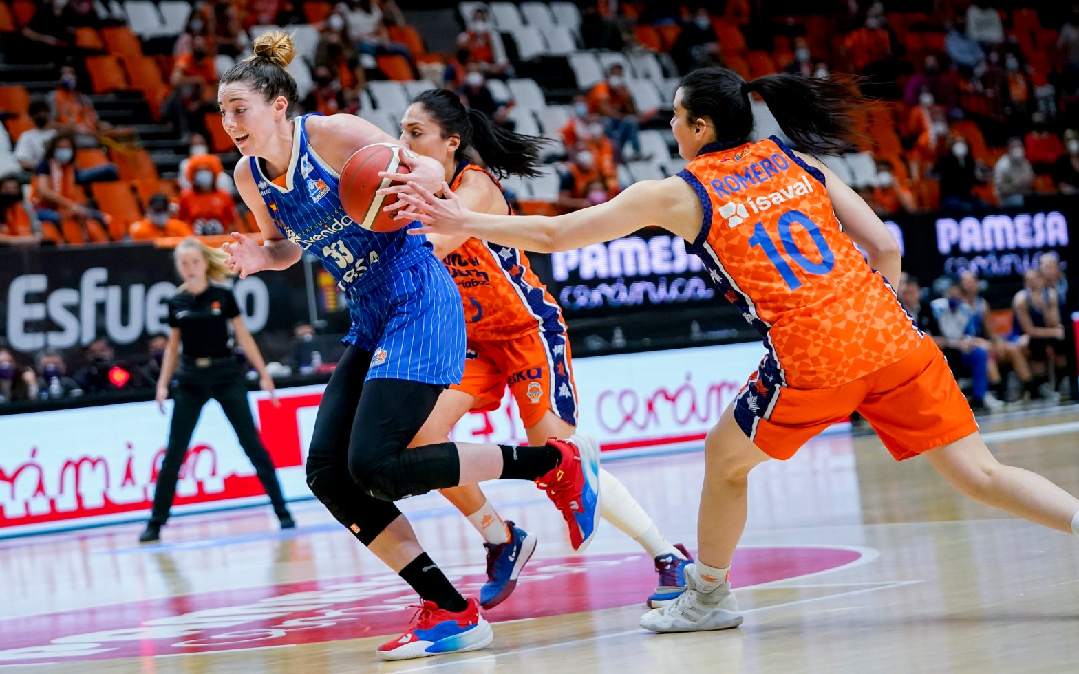 Final Liga Femenina Endesa. Valencia Basket contra Perfumerías Avenida