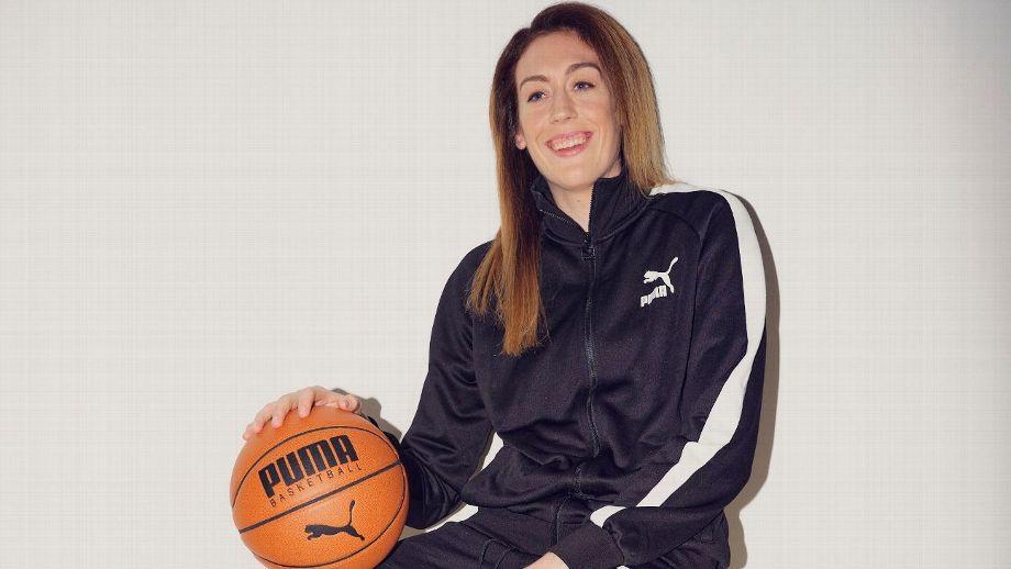 Breanna Stewart, imagen de Puma