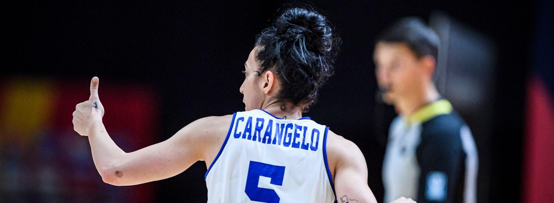 Eurobasket España y Francia. Debora Carangelo