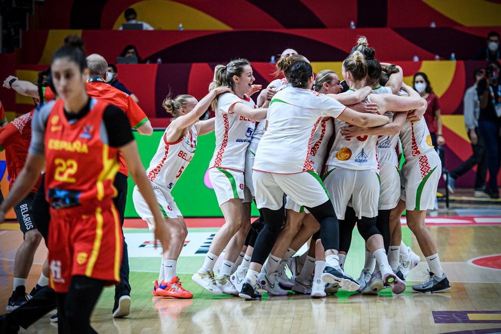 Bielorrusia derrota a España en la primera jornada del Eurobasket de España y Francia