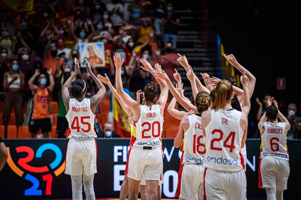 España pasa a cuartos de final del Eurobasket de España y Francia