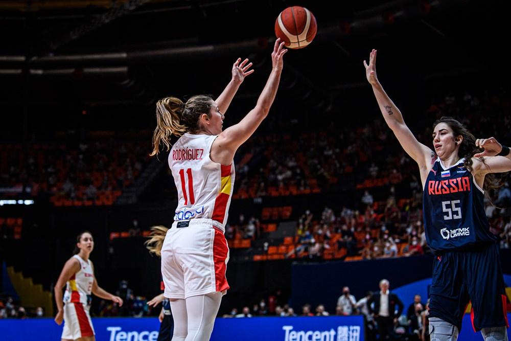Eurobasket España y Francia 2021: La selección femenina cae ante Rusia