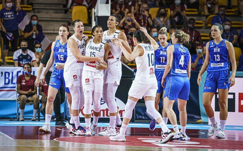 Eurobasket España y Francia 2021: Francia consigue el pase a semifinales