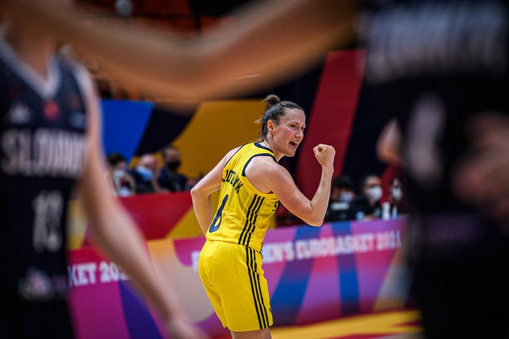 Suecia consigue la primera victoria en el Eurobasket de España y Francia