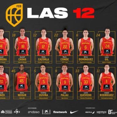 Eurobasket España y Francia: Definidas las doce jugadoras españolas