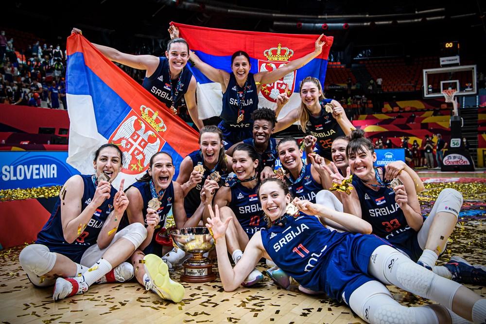 Serbia se proclama campeona del Eurobasket de España y Francia y consigue su segunda medalla de oro