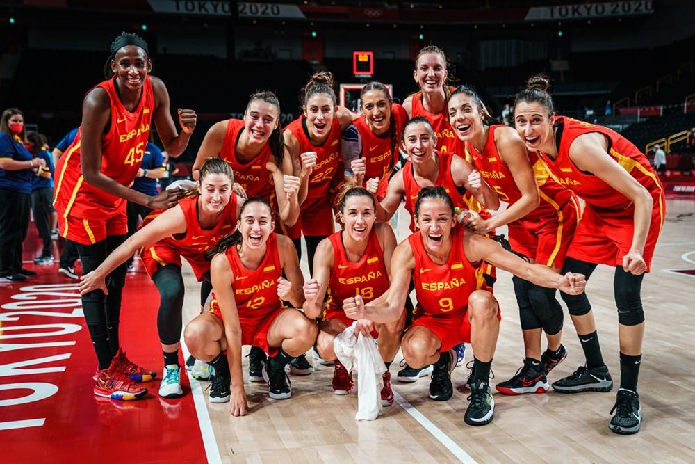 España derrota a Canadá y estará en los cuartos de final de Tokio 2020
