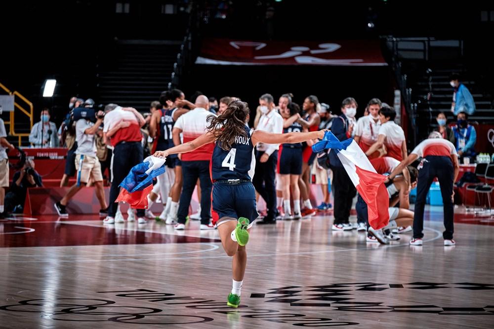 Francia derrota a Serbia y consigue el bronce en Tokio 2020