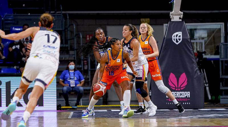 Valencia Basket consigue la victoria ante Tenerife y estará en la final de la Supercopa Liga Femenina Endesa