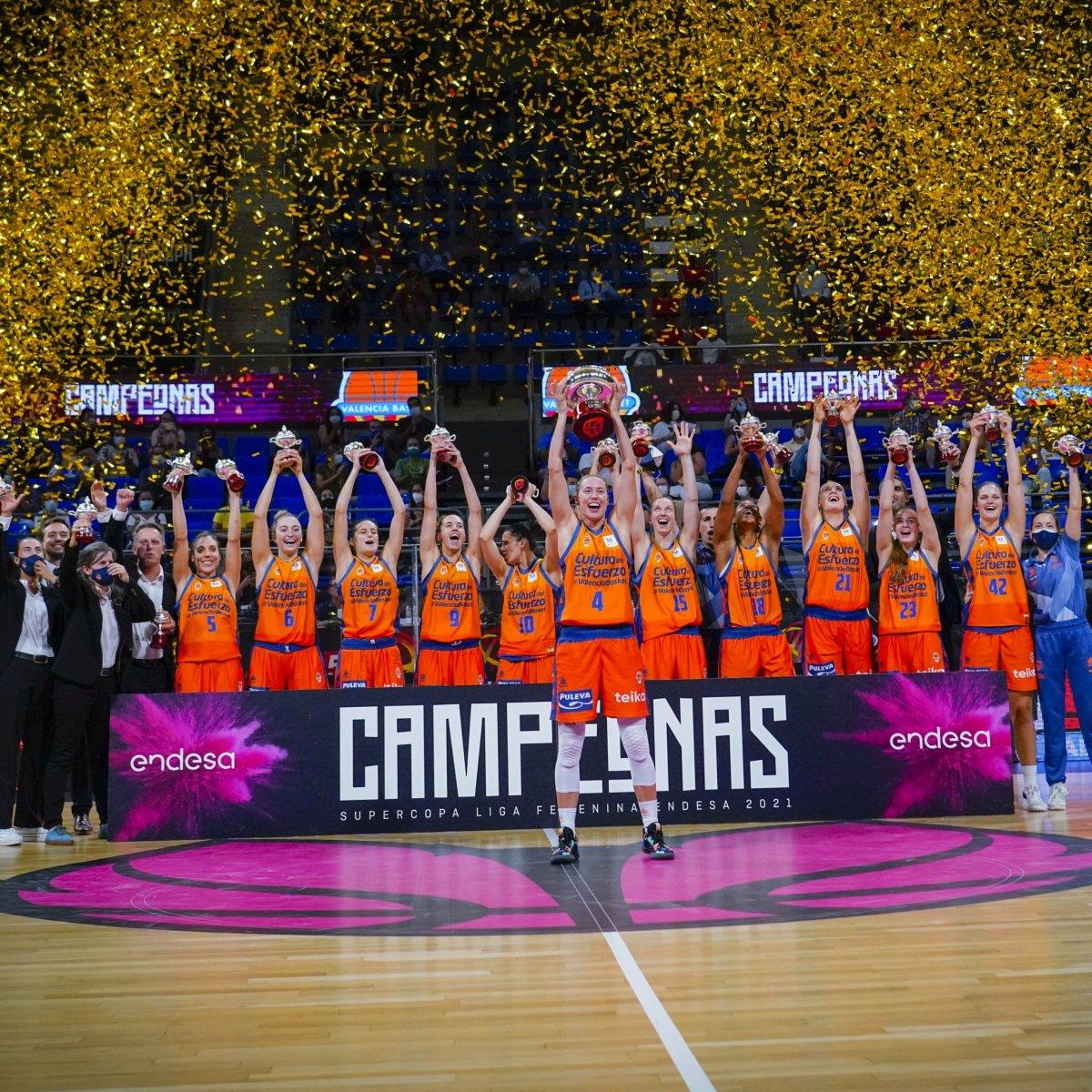 Valencia Basket consigue la Supercopa Liga Femenina Endesa